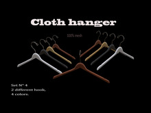 Cloth hanger-set-4
