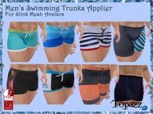 Men's Slink Physique Swimming trunks Applier