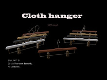 Cloth hanger-set-3