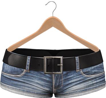 Blueberry Nena *Mesh* Skinny Jeans DEMO