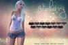 Blueberry - Lola Mesh Denim Shorts - Maitreya Lara, Belleza, Slink Physique Hourglass - Fat Pack