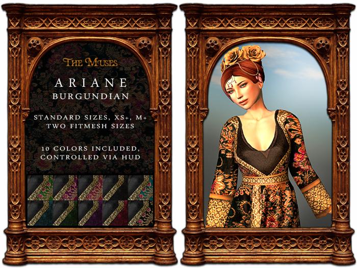 The Muses . Ariane Burgundian