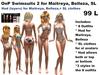 OnP Swimsuits 2, Maitreya, Belleza SL Avatars