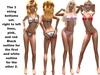 Xst swimwear 2 string models