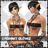 *NT* fishnet gloves in two lenghts