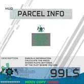 [.:MBS:.] Parcel Info HUD *BOX
