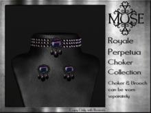 [MUSE] Royale Perpetua Choker - Florite pk hud
