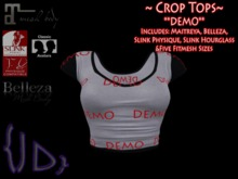 {JD} Crop Tops - DEMO