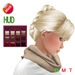 "eDeLsToRe woman mesh hair "" Zoe "" all colors (HUD)  BOX"