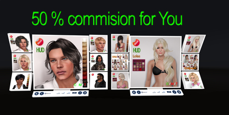 FREE eDeLsToRe mesh HAIR vendors 50% commison for YOU NEW UPDATE *** 4/2018 ***