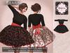 :-:Chambre Rose:-: Clara black/red