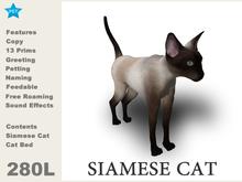 [TomatoPark] Siamese Cat Mesh 3.3 ( roaming + wearable )