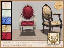 "TTR-Louis XVI ""Salon"" Arm Chair REDUX"
