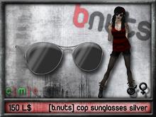 [b.nuts] cop sunglasses silver