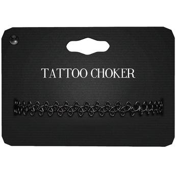 Amala - Tattoo Choker - Black