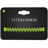 Amala - Tattoo Choker - Lime