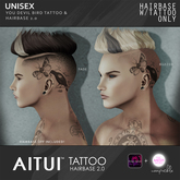 *NEW* AITUI TATTOO - Hairbase 2.0 - You Devil Bird