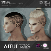 AITUI TATTOO - Hairbase 2.0 - My Palms With Dust