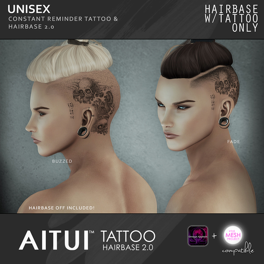 AITUI TATTOO - Hairbase 2.0 - Constant Reminder