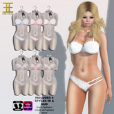 Entice - SexyBack Bra & Panties w/Omega