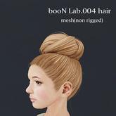 *booN Lab.004 hair black pack