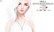 Amala - Crystal Bullet Necklace