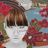 *booN Mae.001 hair all color pack