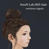 *booN Lab.005 hair black pack