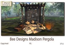 .:Bee designs:. Madison pergola PG