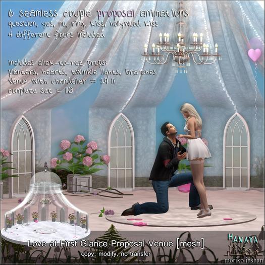 -Hanaya- Love at First Sight Proposal Venue [mesh]