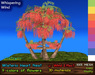 Wisteria Heart Nest - Mesh Tree House - 9 colors, Wind Effect