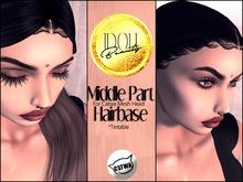 IDOLI. Beauty // Center Part Tintable Hairbase CATWA APPLIER