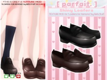 [ parfait. ] Shiny Loafers TEXTURE MOD for Rei's Kemono Loafers