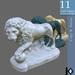 3D / Florence Lion Statue / 11 land impact