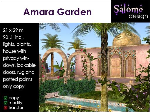 Amara Garden / Arabic Garden