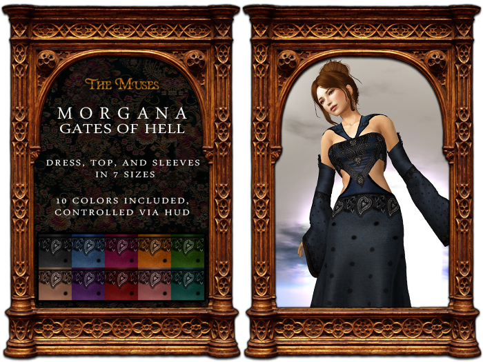 The Muses . Gates Of Hell . Morgana