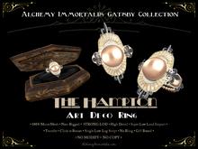 [Gatsby Collection] The Hampton Art Deco Ring [MESH]
