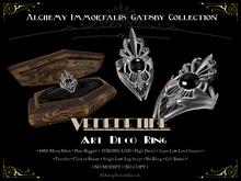 [Gatsby Collection] Venetine Art Deco Ring [MESH]