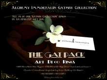 [Gatsby Collection] • THE GAT PACK • ALL 29 RINGS • an $11,255 VALUE! • [MESH] • 88% DISCOUNT