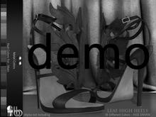 Bens Boutique - Leaf High Heels (Leather) Hud Driven Demo