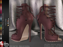 Bens Boutique - Petra High Heels (Slink High) - Hud Driven