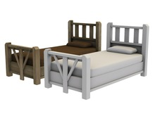 Mesh Country Bed - Full Perm