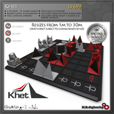 K.R. Engineering Khet Laser Game - Laser Chess - Deflexion