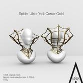 .AiShA. Neck Corset Web Gold