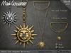 Mg   necklace   ariel sun pendant