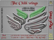 Chibi wings - 3 or 18 LI - 2 FULL PERMS Meshes