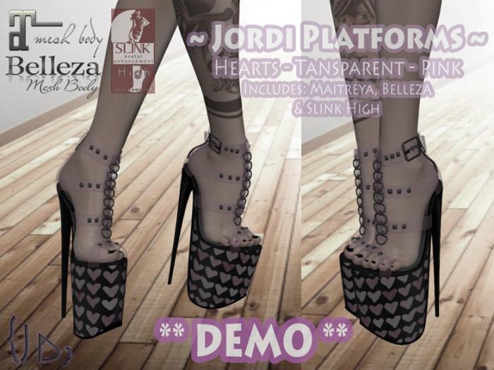 {JD} Jordi Platforms - ** DEMO **