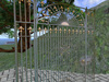 Magnificent Ornate Victorian Wrought Iron Gate Scripted Gate, Formal Metal Gate, Garden Gate set, Entry Gate G0003