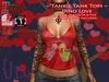 {JD} Tankie Tank Tops - Dino Love