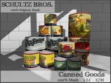 Vintage Canned Goods 1 Prim
